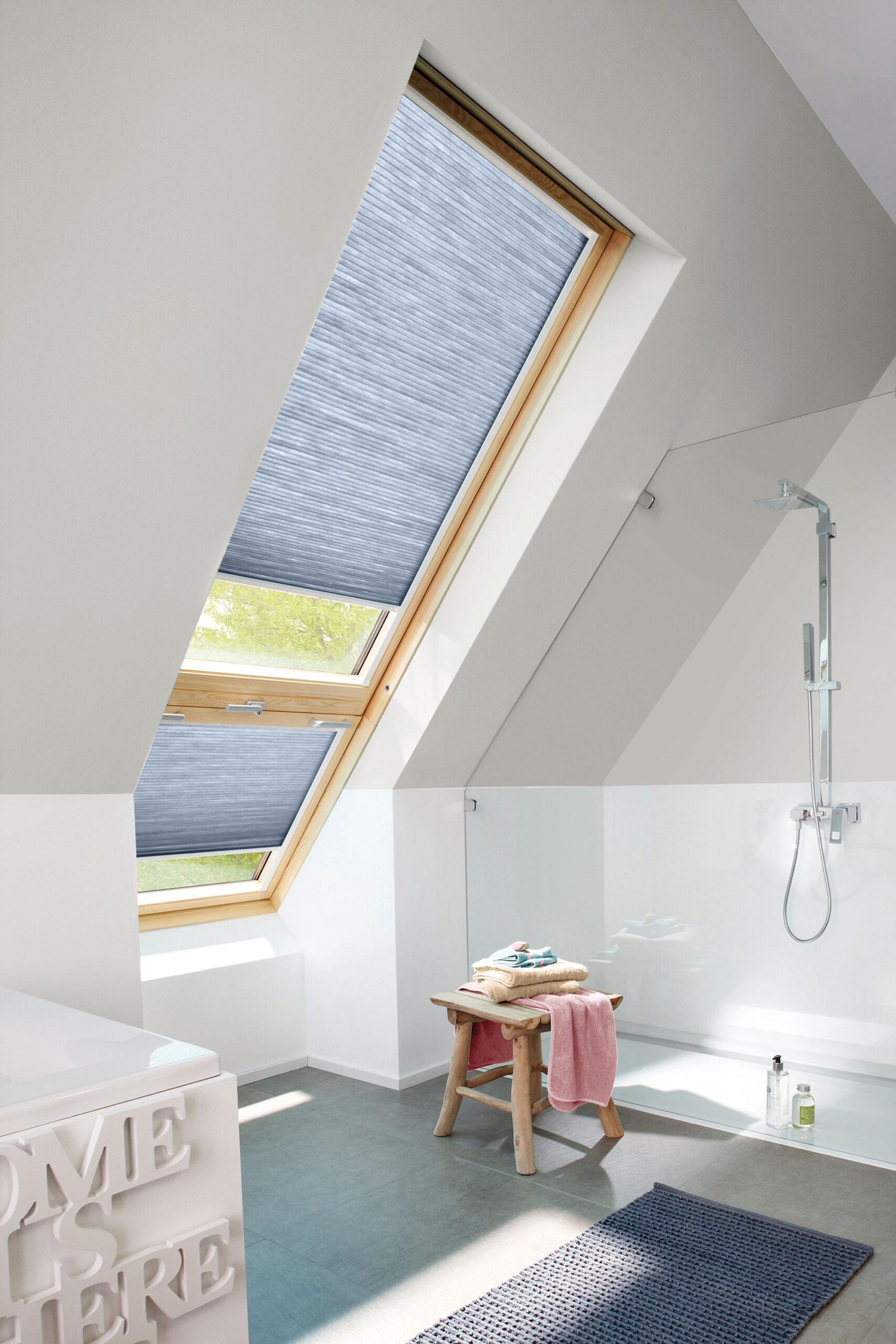 sky light Atrium window coverings