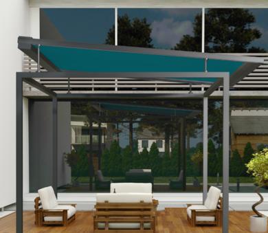 External frame roofing system