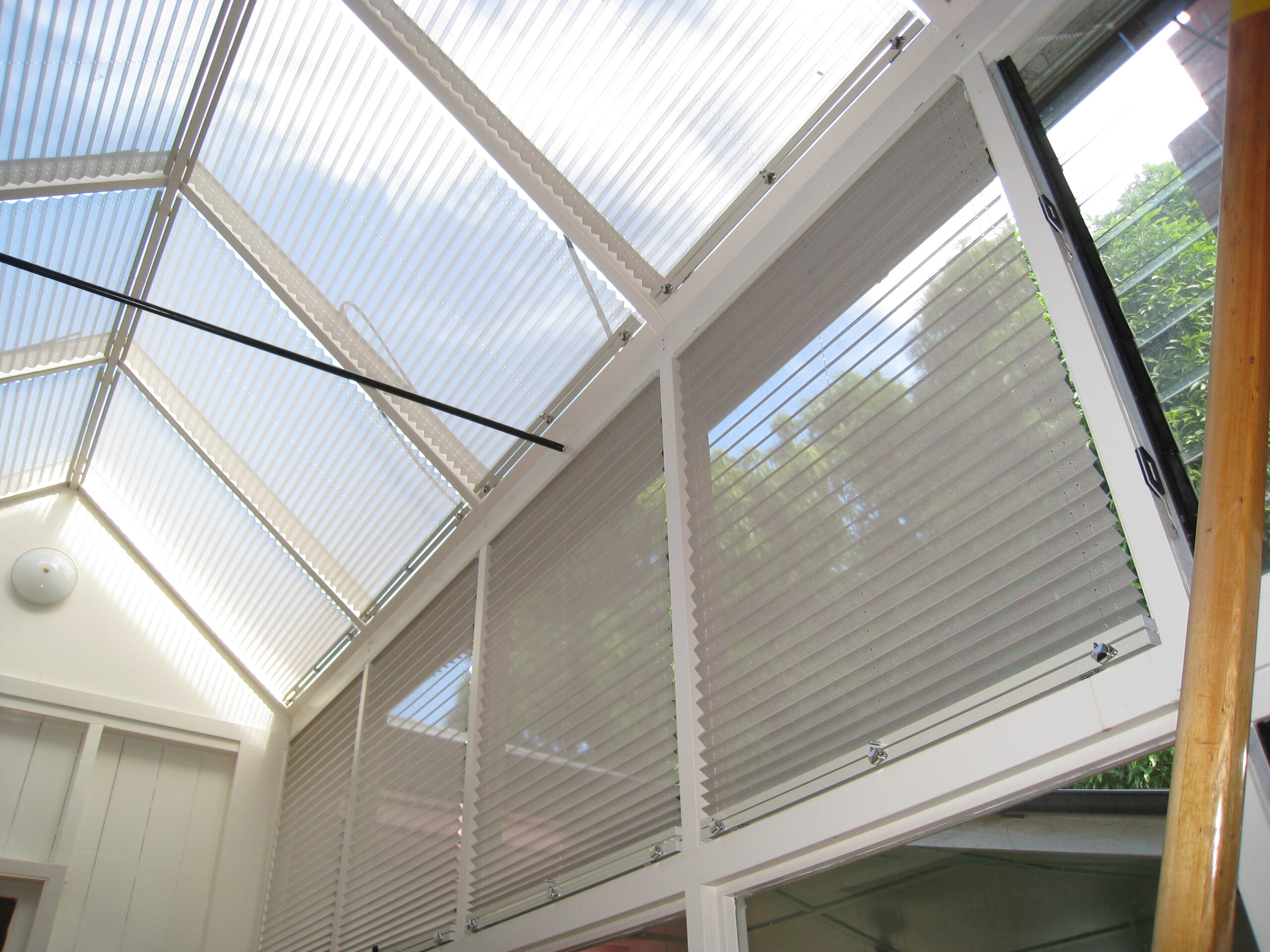 Skylight & Atrium Window Coverings - Innovative Curtains ...